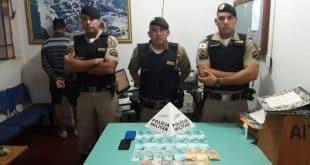 Dois homens são presos portando dinheiro falso no Norte de Minas