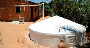 Norte de Minas ganha instalação de 2.993 cisternas e doação de 492 caixas d´água