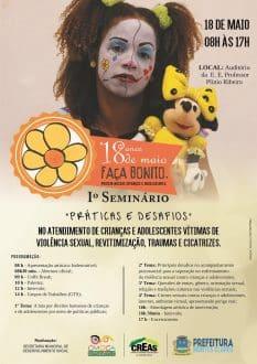 Dia de Combate à Exploração Sexual de Crianças em Montes Claros