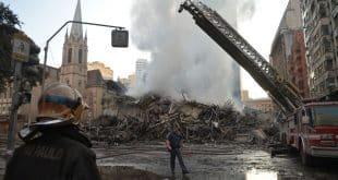 União pede investigação sobre cobrança de aluguel em prédio que desabou em SP