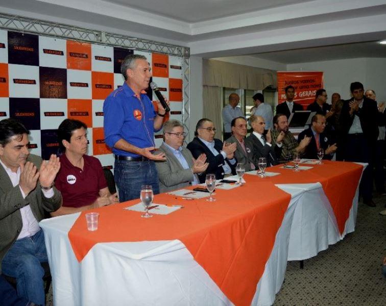 A anúncio foi feito pelo presidente do partido em Minas Gerais, deputado Federal Zé Silva.