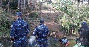 Grupamento Tático Ambiental foi até as margens do Córrego Pai João - Foto: Prefeitura de Montes Claros
