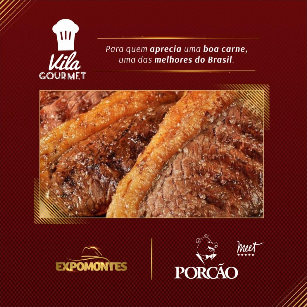 Vila Gourmet, uma experiência gastronômica na Expomontes