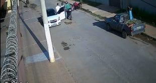 Bandidos são procurados pela Polícia após cometerem assalto no bairro Interlagos