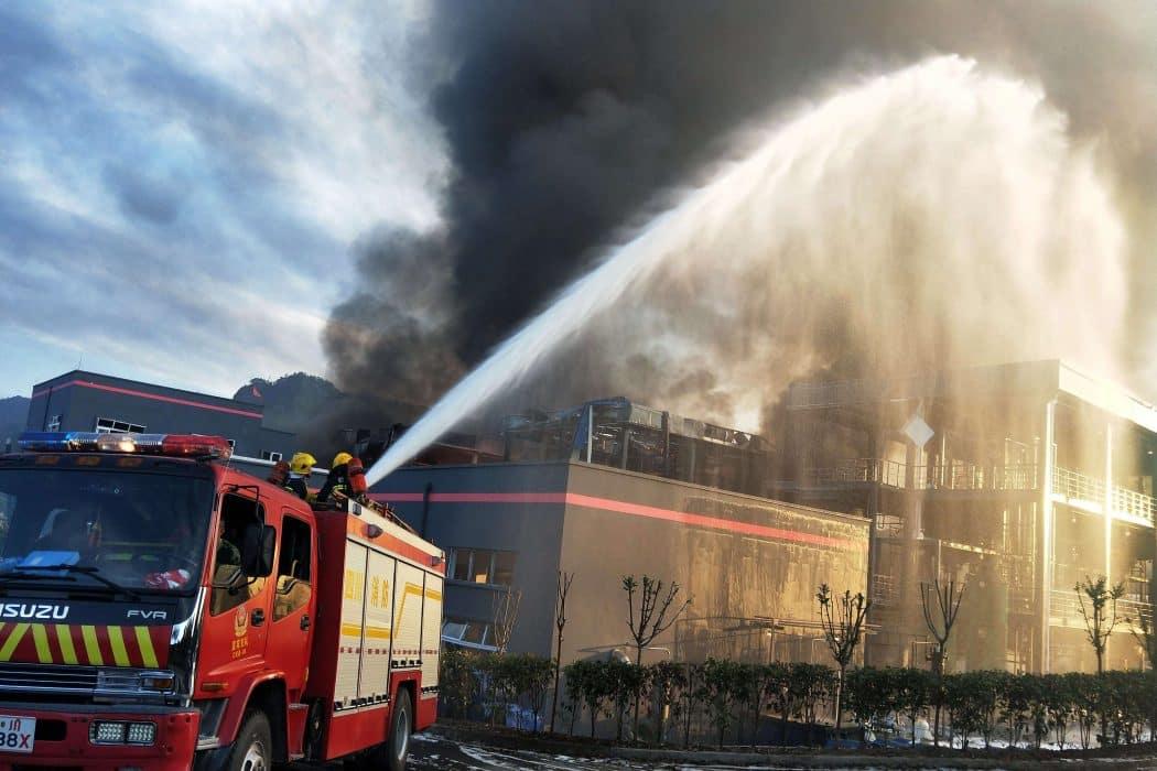 Explosão em complexo químico na China deixa 19 mortos