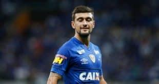 De volta ao Cruzeiro, após ter disputado a Copa do Mundo, Arrascaeta abriu o placar para o Cruzeiro