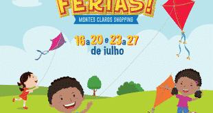 Uma programação super divertida espera pelo público nas férias no Montes Claros Shopping