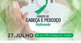 Hospital Dilson Godinho é parceiro no I Mutirão de Combate ao Câncer de Cabeça e Pescoço