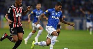 Brasileirão - Cruzeiro perde para o São Paulo em casa