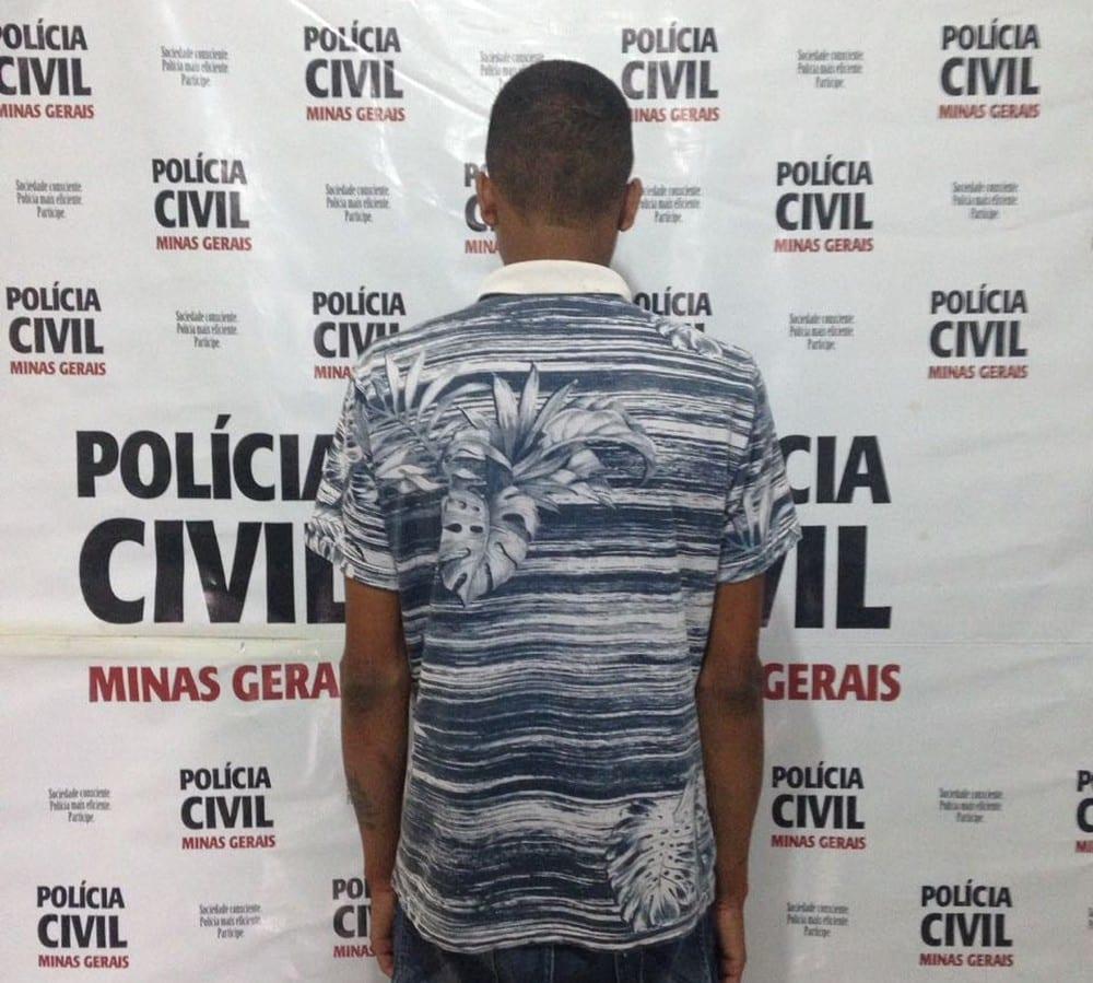 Polícia prende suspeito de matar namorado da mãe com golpes de foice no Norte de Minas