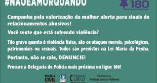 Em Minas Gerais, operação de combate à violência contra mulher marca os 12 anos da Lei Maria da Penha