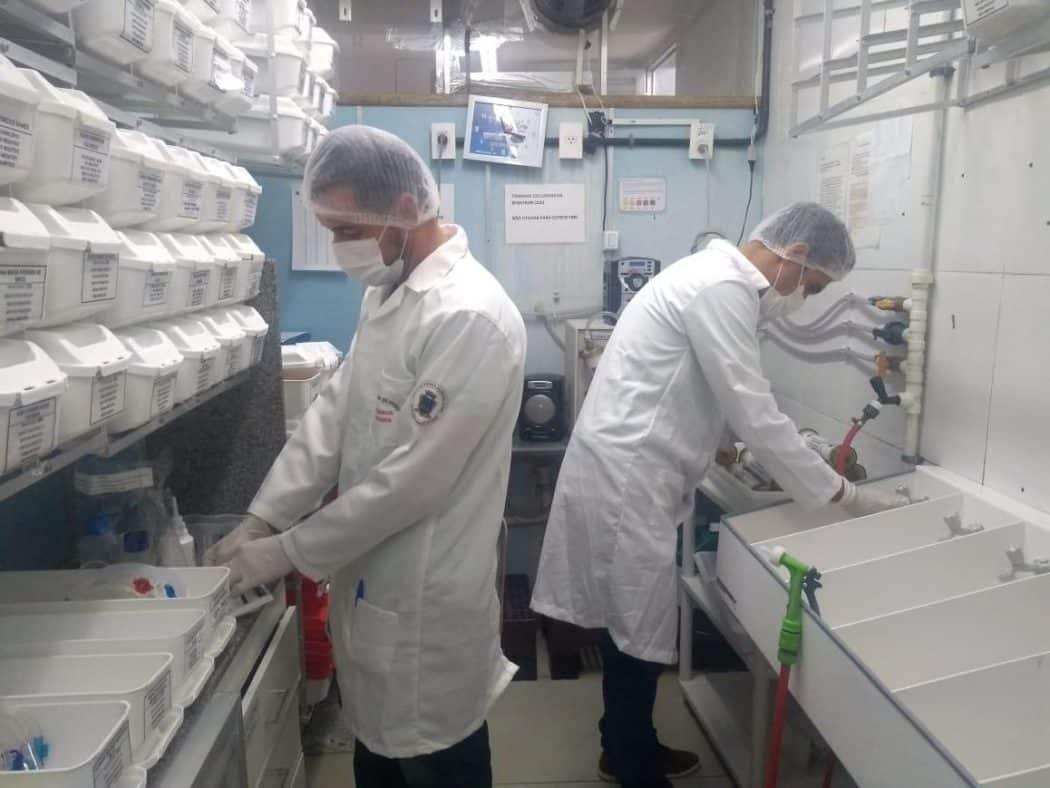 Vigilância Sanitária de Montes Claros faz controle de qualidade da água utilizada na hemodiálise