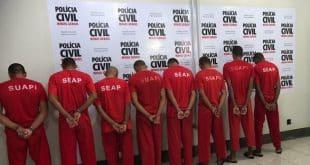 Em Unaí, Polícia prende oito suspeitos de estupros de vítimas entre 9 e 11 anos