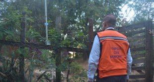 Defesa Civil Municipal vistoria áreas de risco de Montes Claros