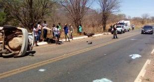 Homem morre após colisão entre moto e carro na MG-122, entre Monte Azul e Mato Verde.