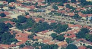 Vista de Luislândia, no Norte de Minas (Foto: Divulgação)