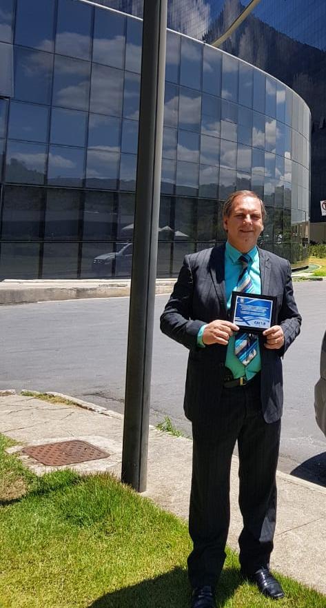 Delegado Renato Nunes é homenageado em evento da Caixa Econômica por reduzir crimes de explosão de caixas eletrônicos no Norte de Minas.