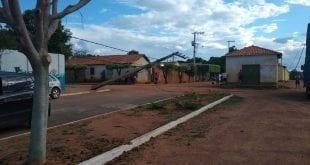 Acidente ocorreu na tarde desta quinta-feira — Foto: Guilherme Rodrigues/Arquivo pessoal