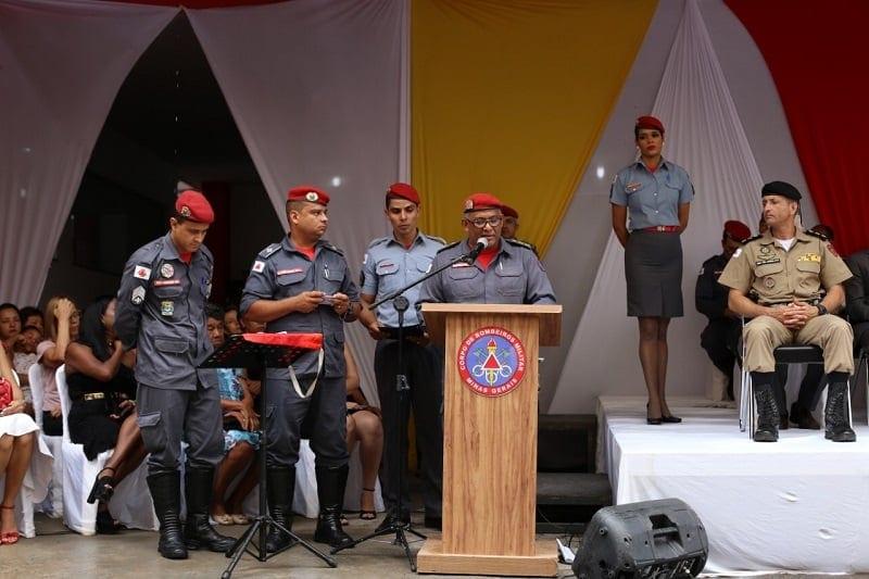 Novo comandante no 7º Batalhão de Bombeiros em Montes Claros