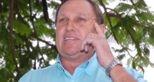 Na foto, o ex-prefeito de Unaí, Antério Mânica