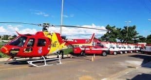 Helicóptero chega ao Norte de Minas para abreviar tempo-resposta em ocorrências