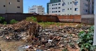 Em Montes Claros, multas para os proprietários de lotes com entulho, lixo e mato, ficam mais pesadas a partir de janeiro