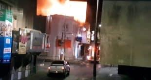 Incêndio destrói loja de tecidos no centro de Montes Claros