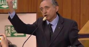 Anselmo Pereira (PSDB) admite ter dito frase polêmica (Foto: Reprodução/TV Anhanguera)