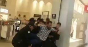 Vídeo - Seguranças de shopping em Montes Claros agridem a cliente e ameaçam senhora