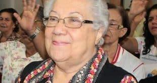 """Maria das Mercês Castro, de 84 anos, conhecida carinhosamente como """"Lilita"""""""