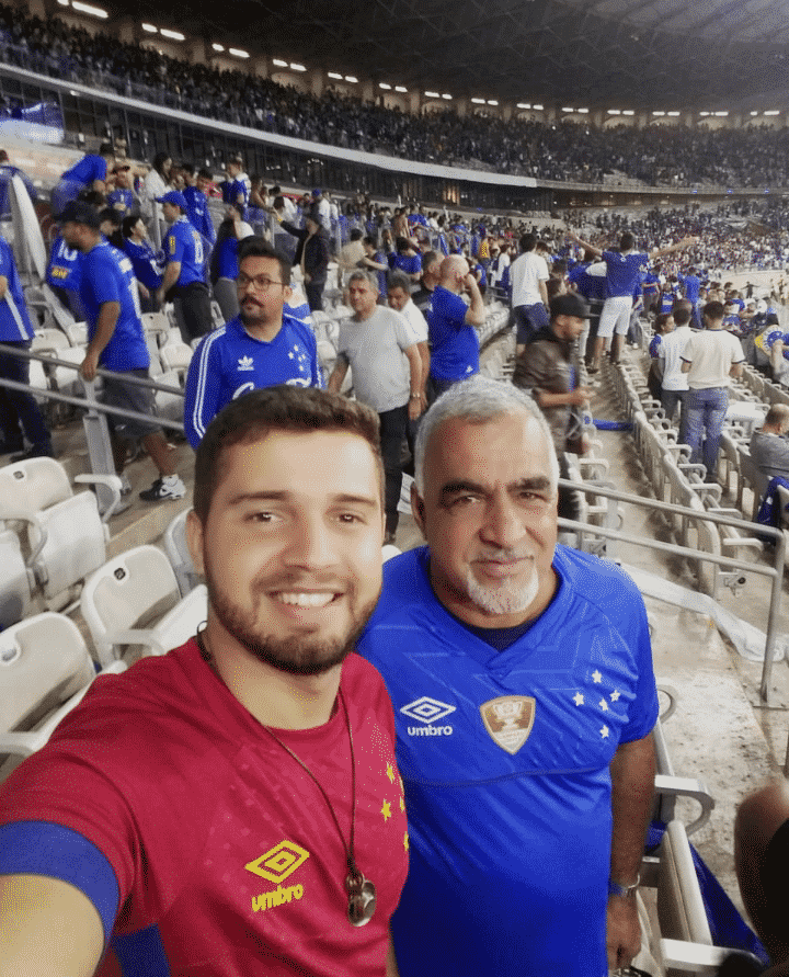 Johny e Zé Olímpio, cruzeirenses