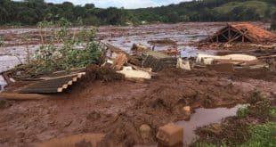 Barragem do Córrego de Feijão, em Brumadinho, se rompeu nesta sexta-feira