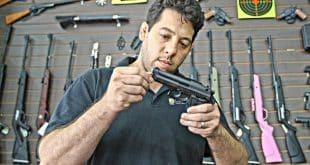 Guilherme Salles, dono da Casa Salles, acredita que a venda de armas em 2019 será a melhor dos últimos 20 anos