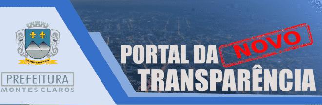 Prefeitura de Montes Claros lança novo Portal da Transparência