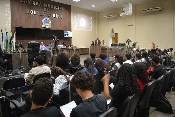 Montes Claros - Parlamento Jovem abre inscrições para escolas e alunos de Montes Claros