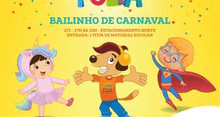 Montes Claros - Tem Bailinho de Carnaval no Moc Folia, o Carnaval do Montes Claros Shopping
