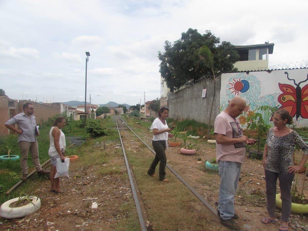 Montes Claros - Prefeitura vai construir pista de caminhada e ciclovia nas margens da linha férrea