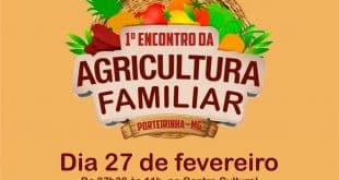 """Norte de Minas - """"I Encontro de Agricultura Familiar de Porteirinha"""" movimenta produtores"""
