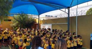 Montes Claros - Como incentivo à educação, LBV distribui kits pedagógico em Montes Claros