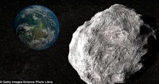 Asteroide APOCALIPSE que ameaça terra poderá ser visto a olho nu hoje, alerta NASA