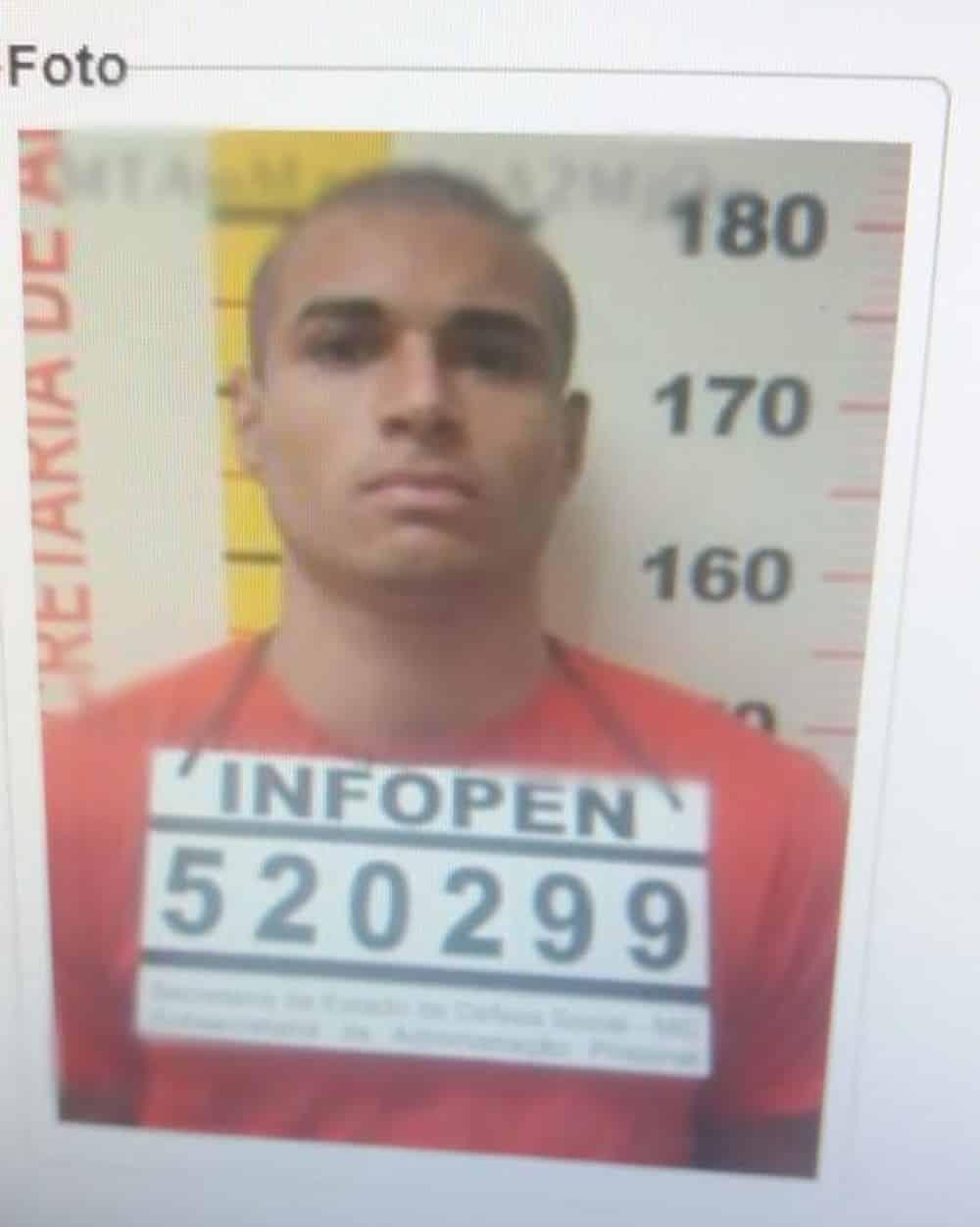Norte de Minas - Homem condenado a 48 anos de prisão por assassinato foge de presídio em Manga