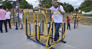 Montes Claros - A cidade de Montes Claros vai ganhar mais três academias ao ar livre