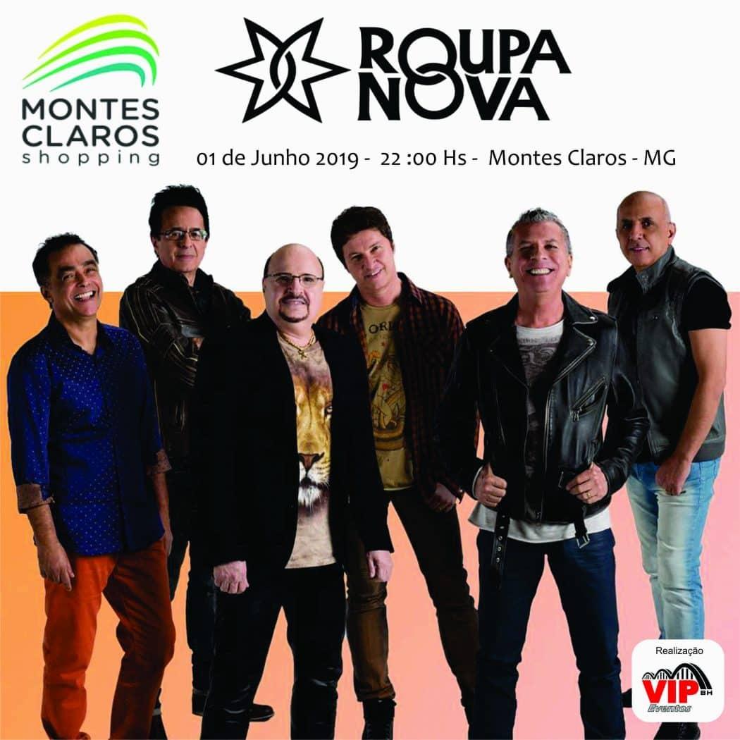 Montes Claros - Show com ROUPA NOVA em Montes Claros