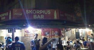 Aqui deu CERTO - O Bar Skorpius se encontra na Rua São Sebastian,57 no bairro Vila Guilhermina.
