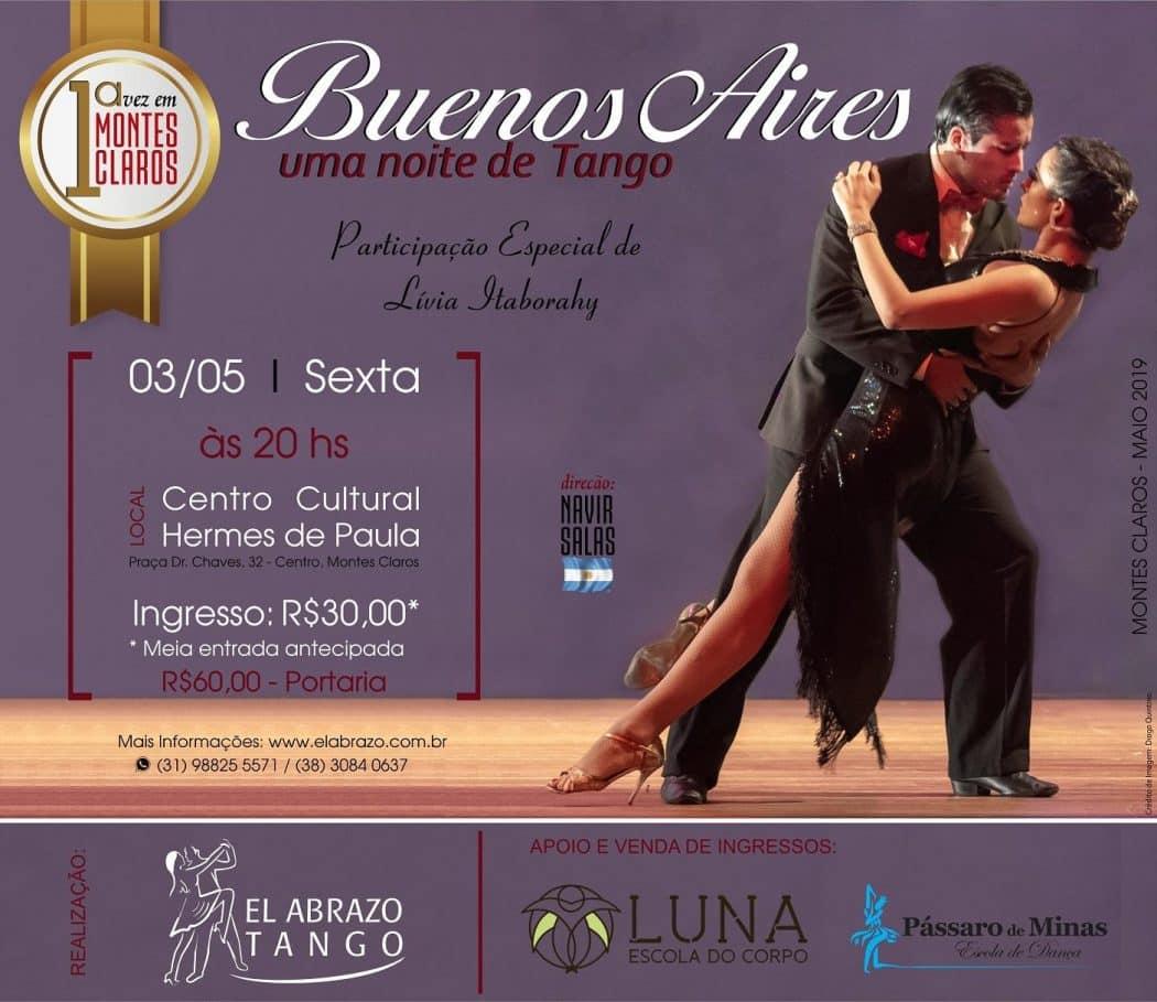 Montes Claros - Centro Cultural de Montes Claros recebe noite de puro tango argentino