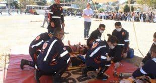 """Montes Claros – Durante campanha """"Maio Amarelo"""", SAMU participará de simulação de atendimento de acidente na linha férrea"""