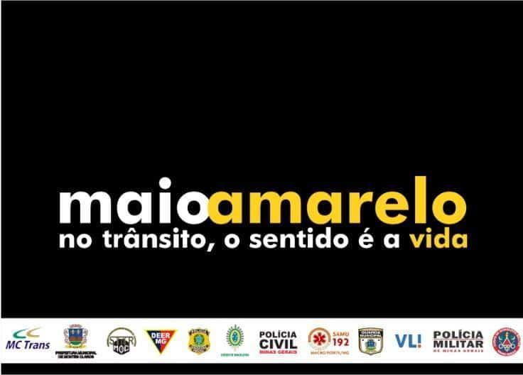 Montes Claros - Campanha Maio Amarelo tem várias atividades nessa semana