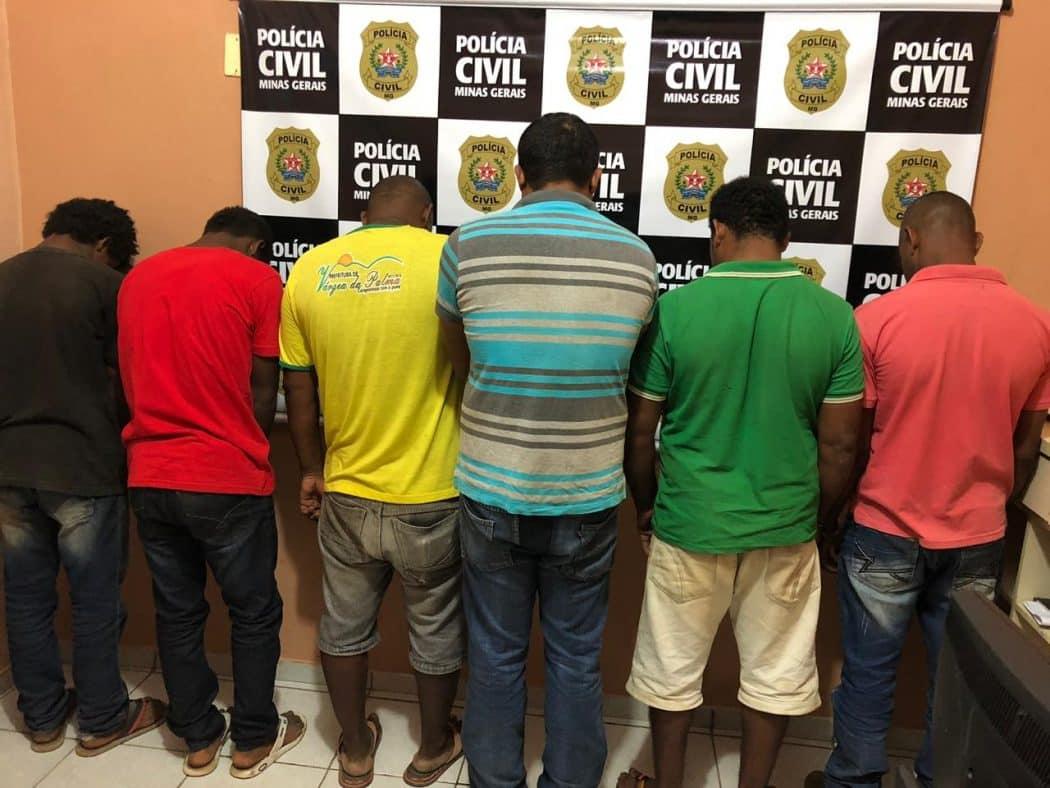 Norte de Minas - Polícia Civil de Pirapora prende uma quadrilha especializada em furtos e roubos de gados