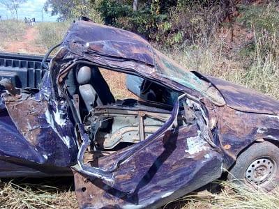 Norte de Minas - Mulher de 56 anos morre em um acidente na MGC-135 em Brasília de Minas