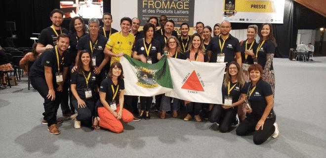 Queijos mineiros faturam Mundial que está sendo realizado esta semana na França